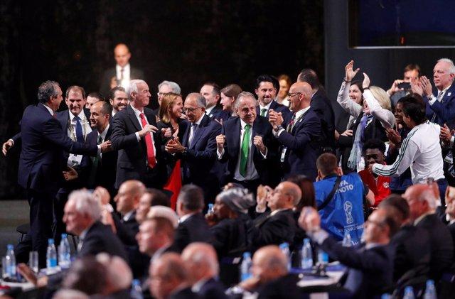 Las autoridades de Estados Unidos, México y Canadá celebran su designación