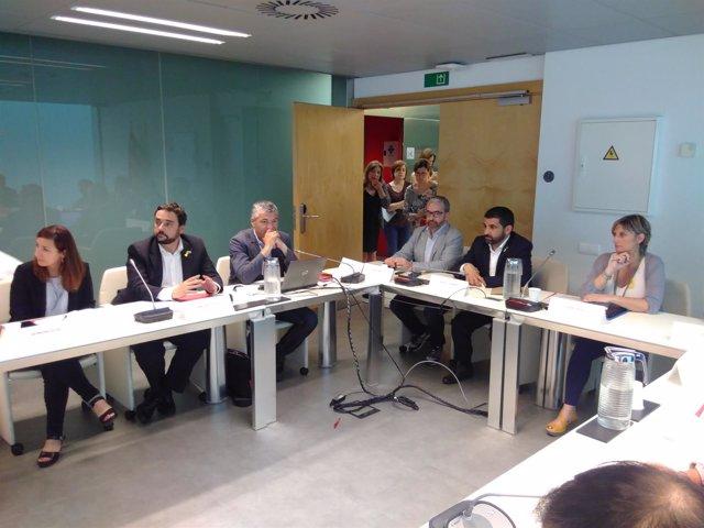 G.Oliva, F.Iglesies, O.Amorós, J.Ginesta, C.El Homrani y A.Vergés