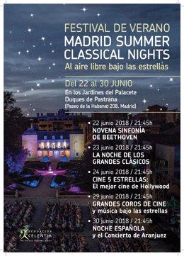 Los conciertos del festival de verano de Fundación Excelentia
