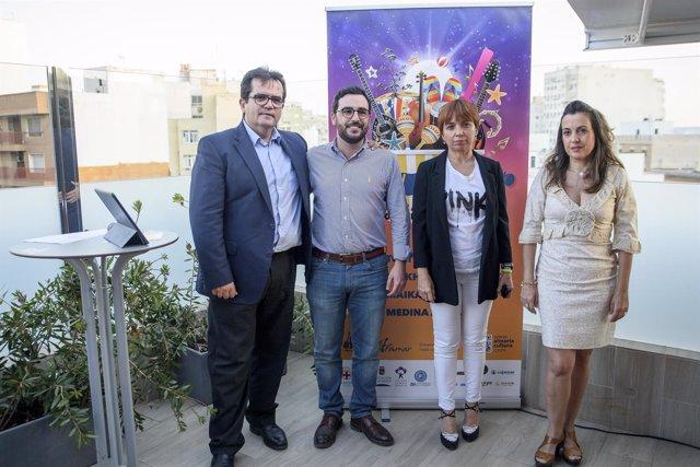 Ayuntamiento, Diputación y UAL colaboran en 'Almería Summer Festival'.