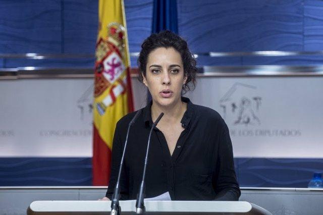 La diputada de En Marea en el Congreso Alexandra Fernández
