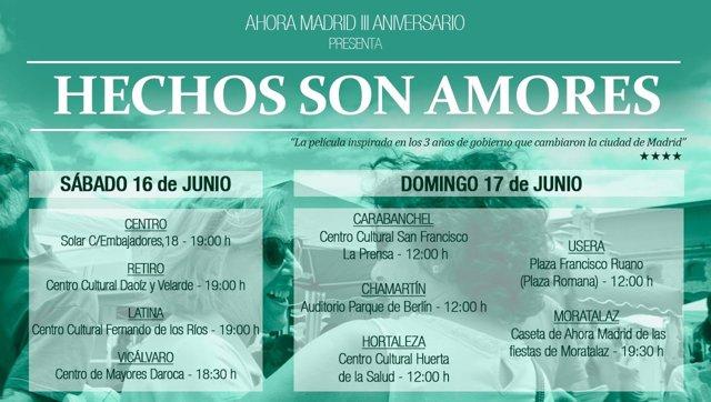 Campaña de Ahora Madrid