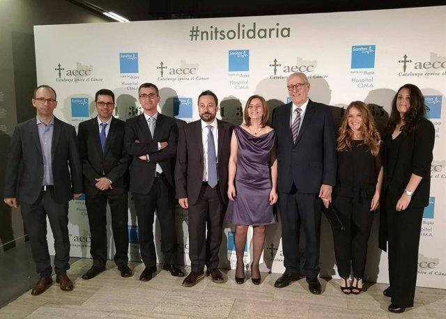 Jesús Bonilla, Toni Giró, director general de Sanitas Hospitales y director gere
