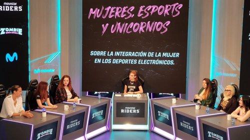"Mesa redonda 'Mujeres, eSports y Unicornios"" de Movistar Riders"