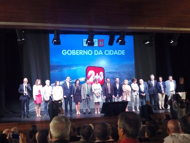 Balance de 11 anos de goberno local de Caballero