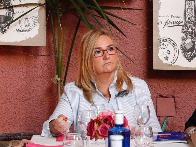 La consejera de Transportes de la Comunidad de Madrid, Rosalía Gonzalo