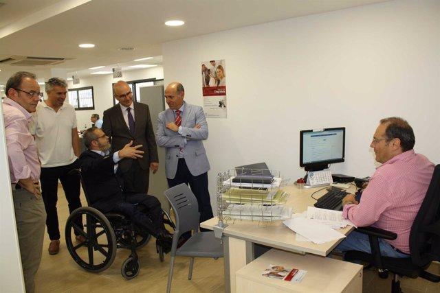 Carmona y Caballero (SAE) visitan la oficina SAE de Occidente