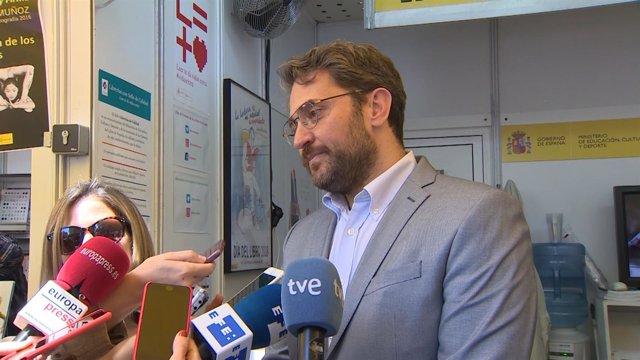 El nuevo ministro de Cultura y Deporte, Màxim Huerta