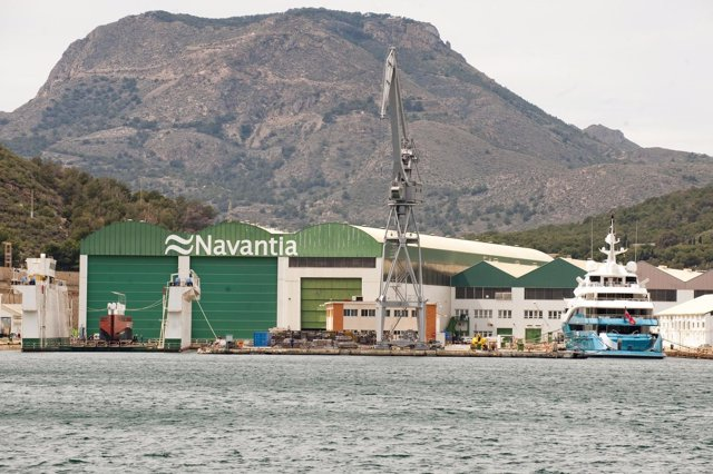 Astilleros de Navantia en Cartagena