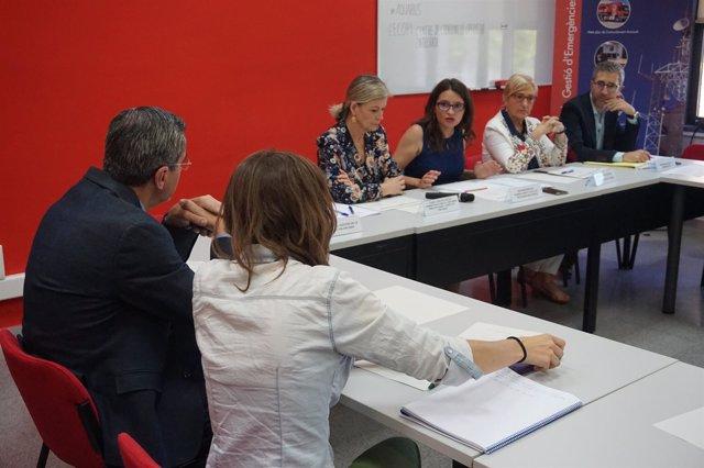 Reunión del Centro de Coordinación Operativa Integrada
