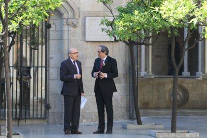 Torra se reúne con el director de la Oficina Antifrau, Miguel Ángel Gimeno