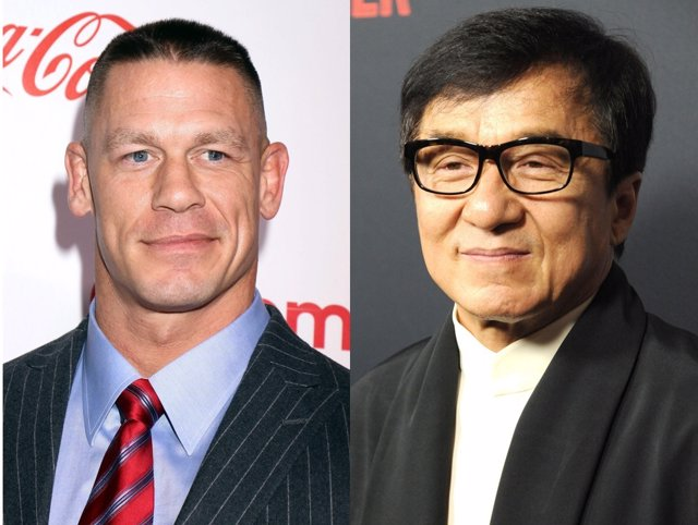 John Cena y Jackie Chan