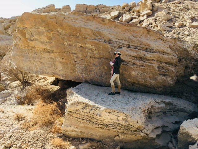 Yacimiento predinástico en el desierto egipcio