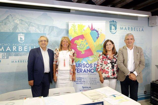 Presentación cursos UMA en Marbella