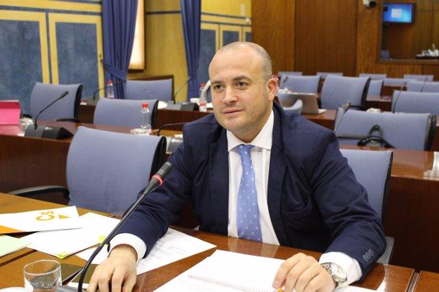 El diputado por Huelva de Ciudadanos, Julio Díaz.