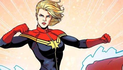 Capitana Marvel también tiene su póster por el 10º aniversario de Marvel... 'fanmade'