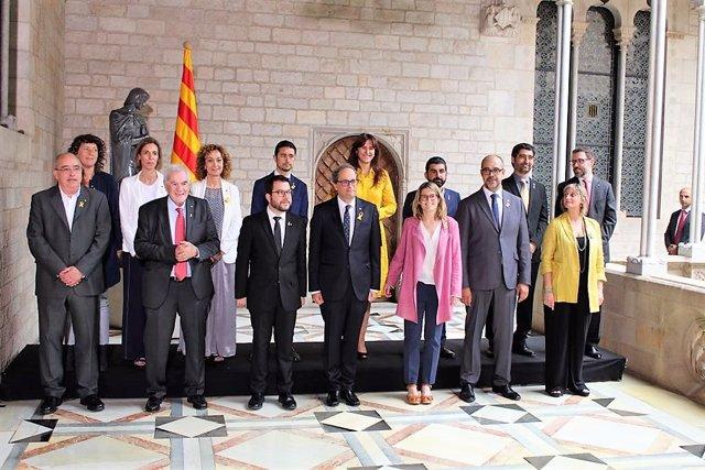 Govern de la Generalitat de Quim Torra tras la toma de posesión