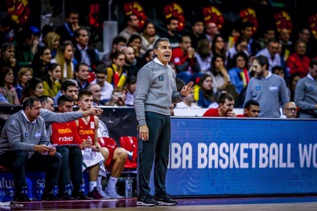 Sergio Scariolo seleccionador España baloncesto selección española