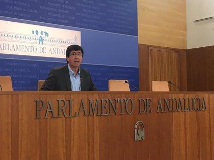 """Marín afirma que es """"falso"""" que Cs vete iniciativa de sanidad de PP-A, al que acusa de """"chantaje y acoso"""""""