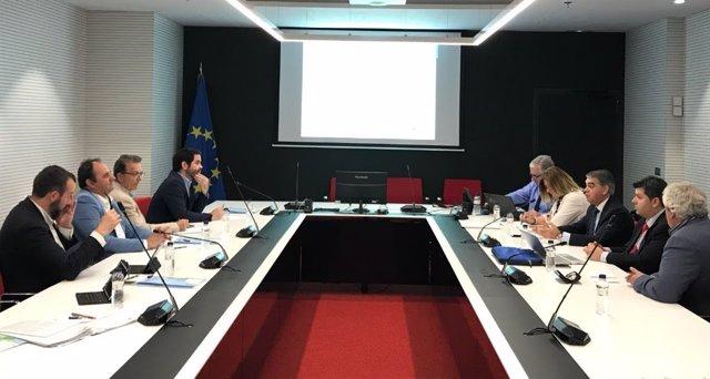 Reunión de la ACM con representantes del Gobierno vasco