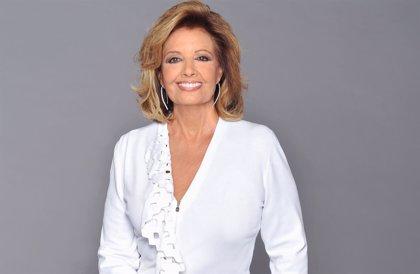 María Teresa Campos sorprende en Sálvame con una buena noticia