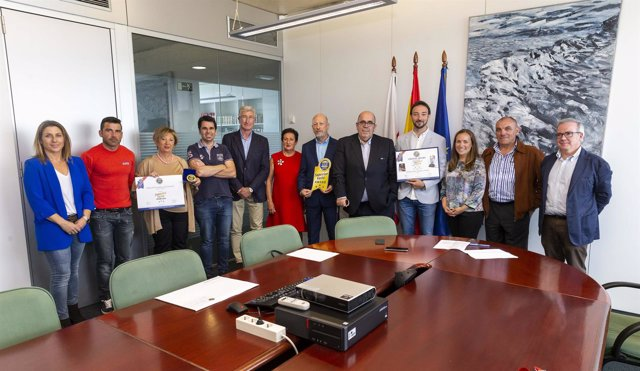 Oria recibe a representantes de las siete empresas premiadas en Bruselas