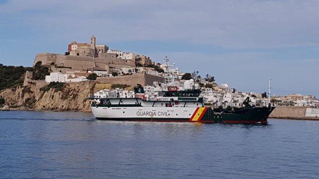 Embarcación de la Guardia Civil, Río Miño