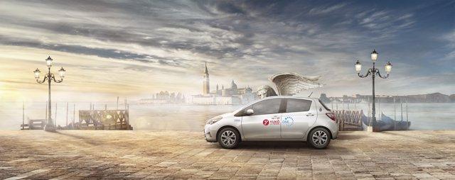 Servicio de coche compartido de Toyota