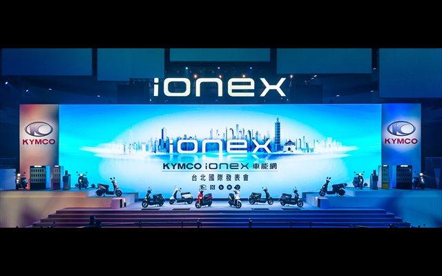 Kymco inicia en Taiwán su programa Ionex, mediante el que lanzará 10 e-scooters en tres años