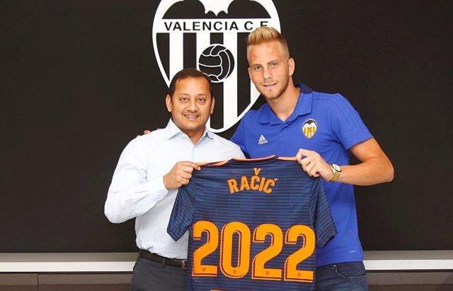 Uros Racic, nou jugador del València