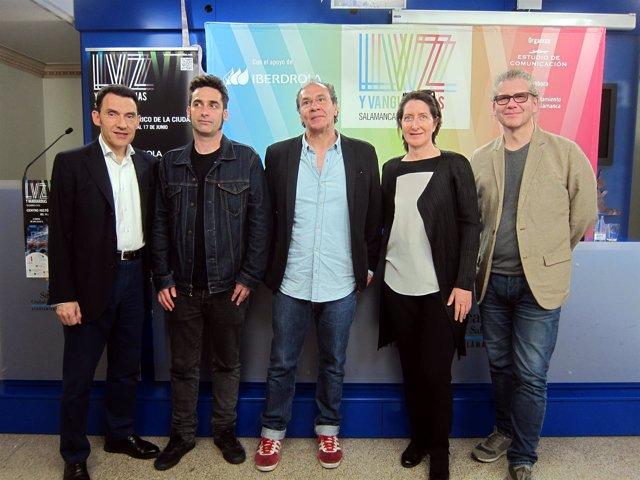 Presentación de los artistas invitados en el Festival