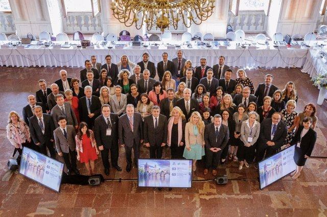 63ª Reunión De La Comisión Europea Celebrada En Praga