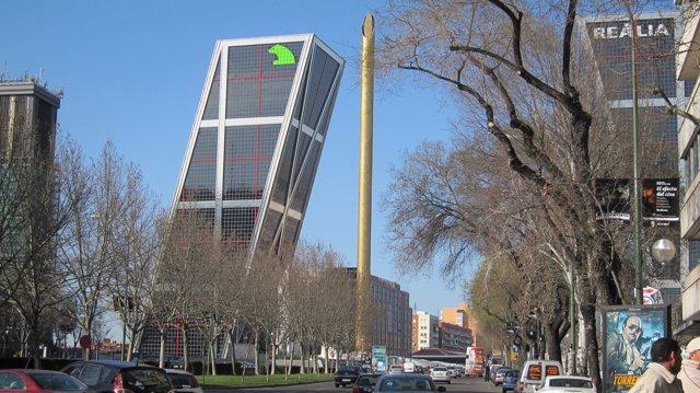 Torre Kio Caja Madrid