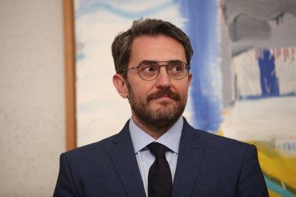 """Màxim Huerta dimite como ministro: """"Me voy porque amo la cultura más que nada"""""""