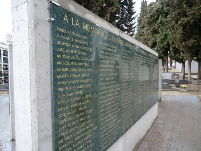 Imagen de los 'Muros de la Memoria' en Córdoba