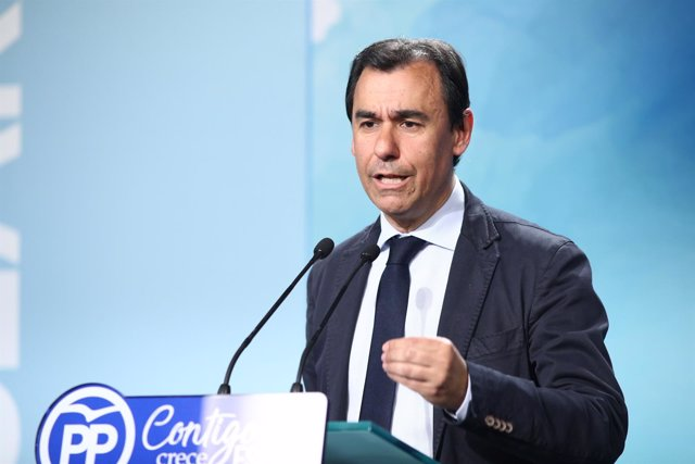 Rueda de prensa del coordinador general PP, Fernando Martínez-Maíllo