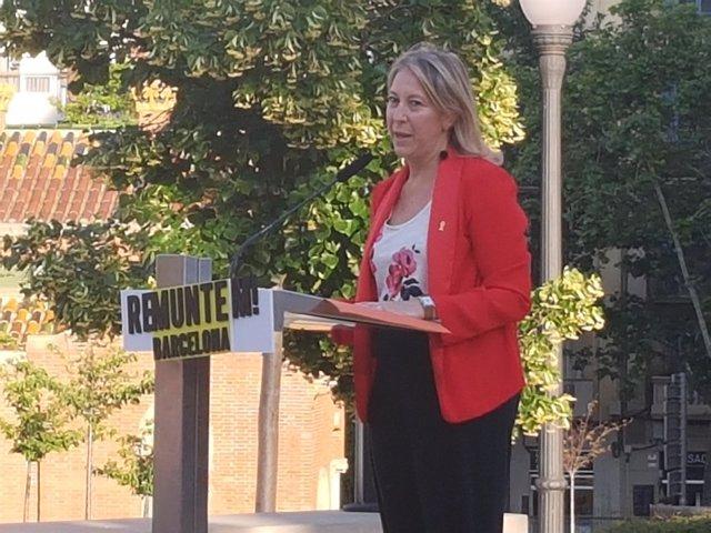 La candidata del PDeCAT en Barcelona, Neus Munté