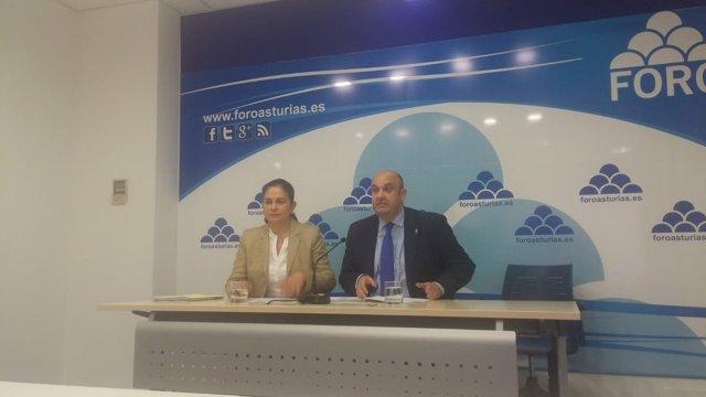 Carmen Fernández y Pedro Leal