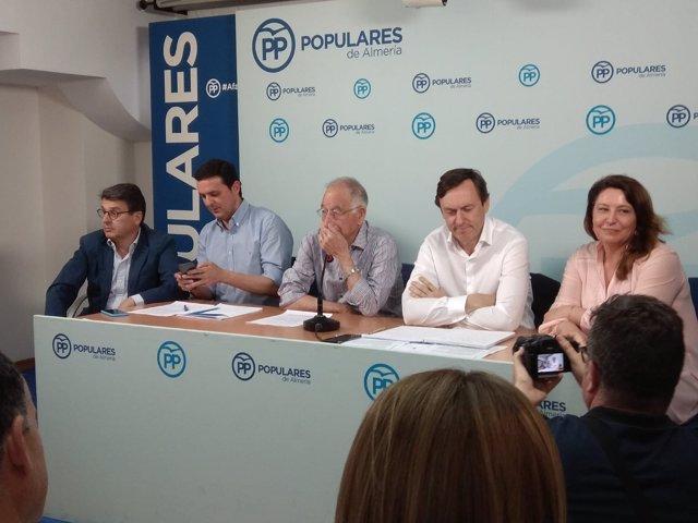 Comité ejecutivo del PP de Almería