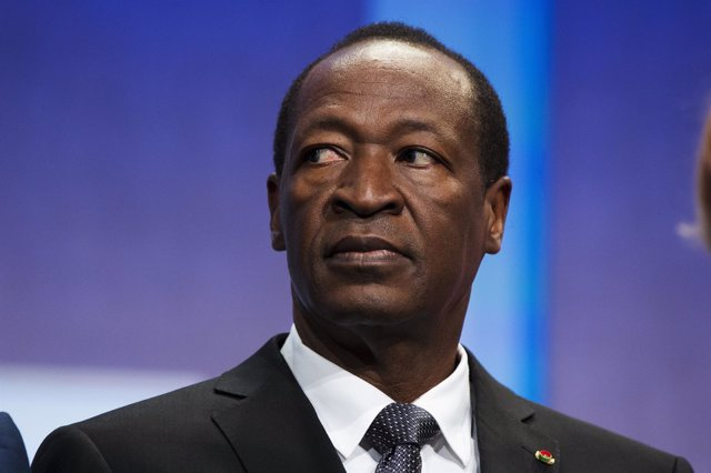 Ex presidente de Burkina Faso, Blaise Compaore