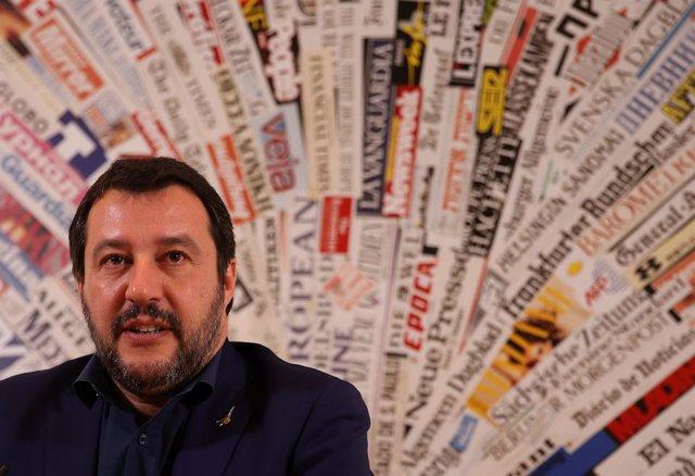 Matteo Salvini, líder de la Liga