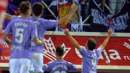El Valladolid golea al Numancia y pone rumbo a Primera