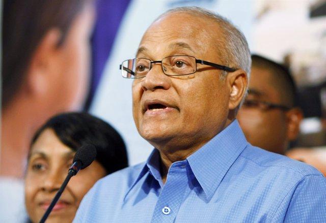 El expresidente de Maldivas Maumun Abdul Gayum