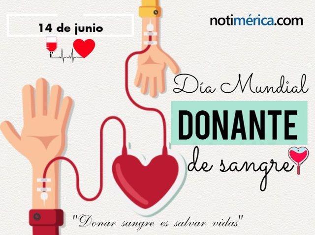 Portada Día Mundial del Donante de Sangre