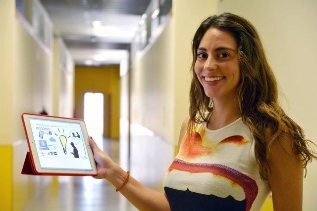 La ingeniera por la UPCT, Eva Ortiz