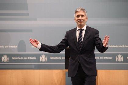 Grande-Marlaska respalda un traslado a prisiones de Cataluña de los líderes independentistas si así lo autoriza el juez