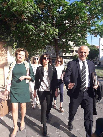 """Juana Rivas a su llegada al Juzgado: """"Soy inocente y se va a demostrar"""""""