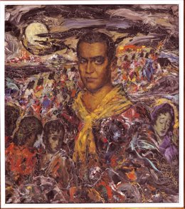 Federico García Lorca por Enrique Ochoa (1933)