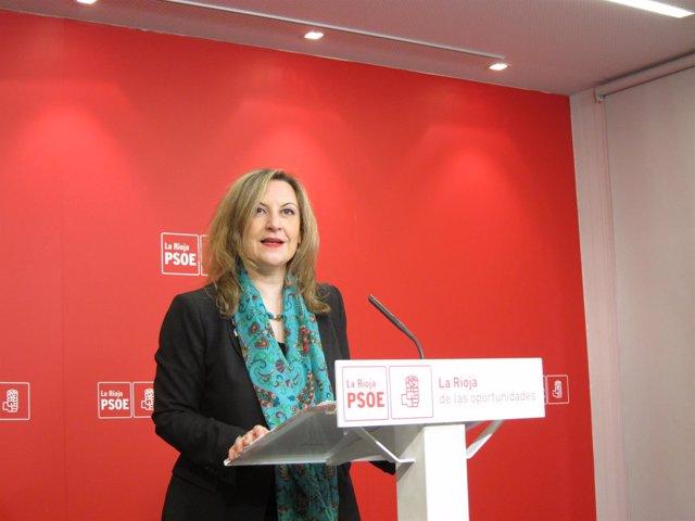 La Diputada Del PSOE Rioja, Emilia Fernández