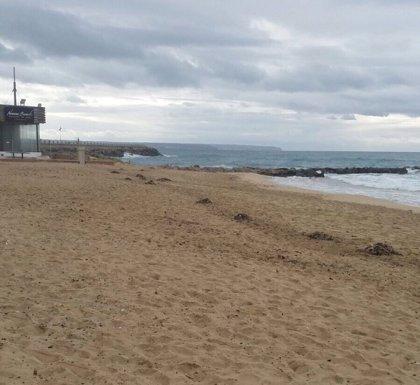 Localizado un cuerpo sin vida cerca del espigón de la playa de Can Pere Antoni